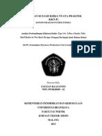 Fauzan Baananto (0910620049) - Laporan Kuliah Kerja Nyata-praktek 2013