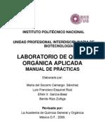 Manual de Practicas de Quimica Organica