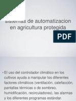 sistemas de automatizacion en agricultura protegida .ppt