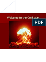 welcome to the cold war