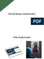 Pemeriksaan Audiometri