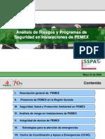 Análisis de Riesgos y de Seguridad en Instalaciones de PEMEX