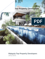 Malaysia Top Property Developer 2012/2013