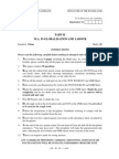 TISS Sample Paper - MA in Globalisation and Labour Part 2 Set 1