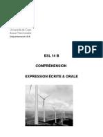 ESL 14 B Compréhension 2008-2009