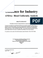 Guidance for INDUSTRY ANDA