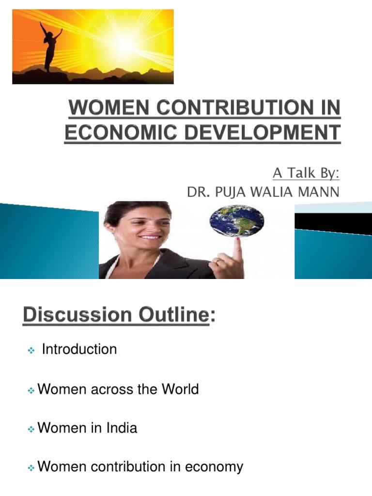 women contribution