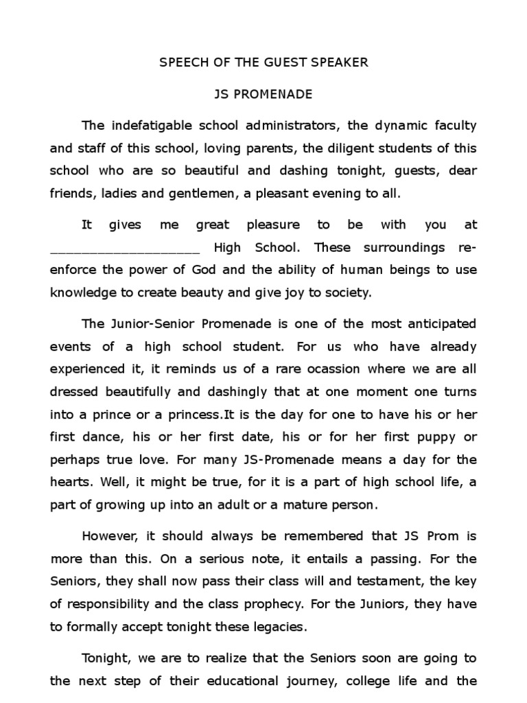 Sample of welcome address for graduation in elementary.