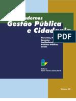 +++Cadernos de gestão pública e cidadania