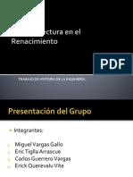 La Arquitectura en El Renacimiento (Miguel Vargas)