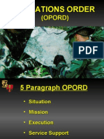 oporation order class ppt