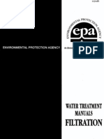 EPA Water Treatment Manual Filtration