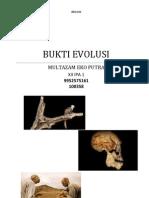 Bukti Evolusi
