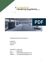 Underfloor Heating Maual