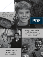 Walgrove Yearbook Ad - Family Sample 3 (full page)