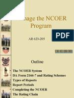 manage-the-ncoer-programs