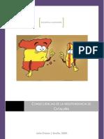 Consecuencias de una independencia entre Cataluña y España.