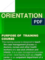 IMCI Orientation Powerpoint Presentation