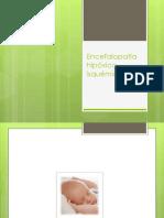 Encefalopatía hipóxico-isquemica