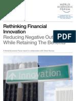 WEF FS RethinkingFinancialInnovation Report 2012