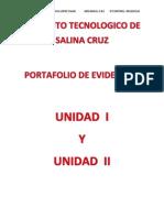 Portafolio de Evidencias de Unidad 1 y 2 de Algoritmos de Programacion