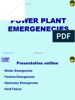Power Plant Emergenecies