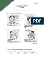 Penilaian Kemajuan -English Yr2 Paper2