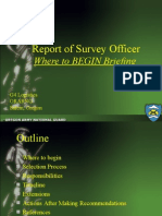 report_of_survey_officer_briefing