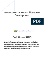 HRD Development