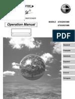 atxg25 35cvmb manual de operación