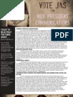 JAS IRWIN COMMUNICATIONS PLATFORM