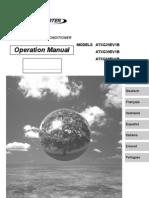atxg-e manual de operacion - español