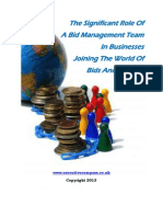 What A Bid Management Service Brings To The Table