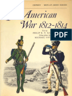 Osprey, Men-At-Arms #036 the American War 1812-1814 (-) OCR 8.12