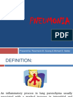 Pneumonia Sssssss