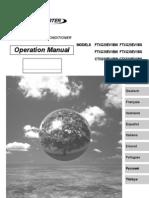 manual de operación ftxg25-35e ctxg50e