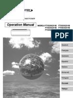 manual de operación ftxs-g