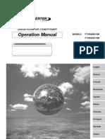 manual operación ftxr28-42-50ev1b