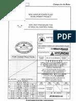 Seal Oil Control Panel Test MC-GT-G-40-M64800