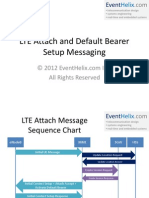 LTE Attach Messaging
