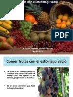 Frutas Con El Estomago Vacio