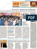"""Quattro chiacchiere sul cinema con Pupi Avati / Urbino si riscalda con """"Primavera d'Irlanda"""" - Il Resto del Carlino del 26 febbraio 2013"""