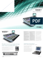 Studer Vista 1 - Brochure