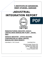 Industrial Integration Report Group-4
