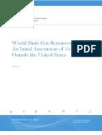 Eia World Shale Gas Resources