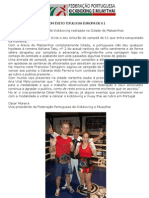 SANDRA PIRES DEFENDE COMÊXITOTITULO DA EUROPA DE K1