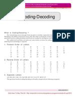 SSC CGL Reasoning (Coding Decoding)