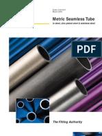 Metric Seamless Tube