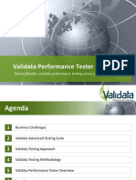 Validata Performance Tester Product Presentation