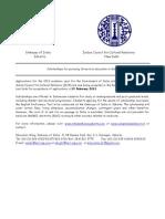 Scholarship Information Brochure 2013-14